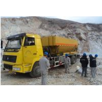 Quality Professinal Sinotruk 15T Site mixed granular ANFO Explosive Truck BCLH/BCRH/BCZH for sale