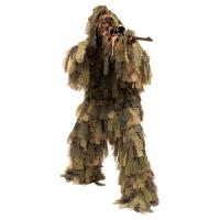Quality 3D Leaf Camouflage Ghillie Suit Camo Ghillie Suit Hunting Ground Blind Hunting Clothes for sale