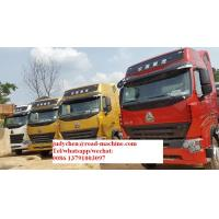 Buy cheap Sinotruck HOWO A7 6 x 4 12Tires/10Tire Tractor Head 420HP Engine / EuroII from wholesalers