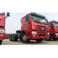 Quality Double Sleepers SINOTRUK HOWO Tractor Truck LHD 6X4 Euro2 371HP ZZ4257S3241V for sale