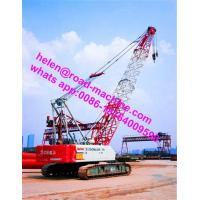 Buy Hydraulic Crawler Crane QUY150 (150T) With Length Of Main Boom 19-73m at wholesale prices