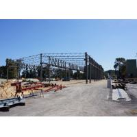 Quality Australian Standard Modern Design truse roof large spans Prefabricated Steel Structure Warehouse for sale