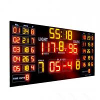 Buy cheap Customized Luxury Multi LED Basketball Scoreboard For Basketball Sporting from wholesalers