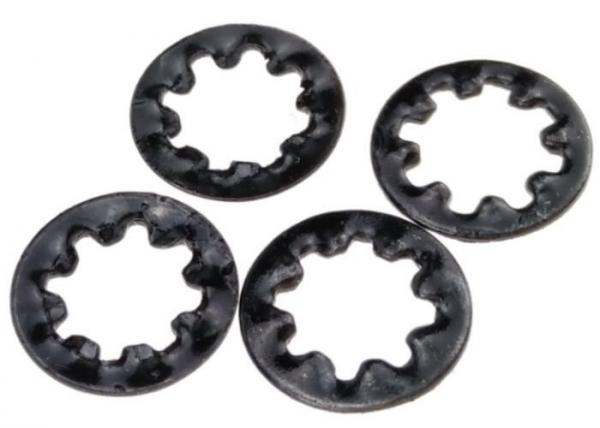 Buy Hardened Metal Stamping Parts Steel Internal Toothed Lock Washer DIN 6797 Type J at wholesale prices