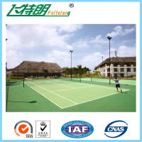 Quality Acrylic Tennis Court Surface Outdoor Flooring Customized High Wearing Resistance for sale