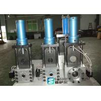 Buy cheap Single Plate Hydraulic Screen Changer Extruder Electronic Control Scale System from wholesalers