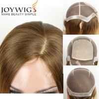 Quality Factory Wholesale High Quality European Hair 4X4 Silk Top Thin Skin Perimeter Full Lace Wigs for sale