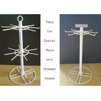 Buy cheap Hooks Spinner Metal Table Top Display Stands For Shop And Grocery Two Tiers from wholesalers