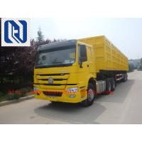 Quality Euro II Sinotruck Howo Cargo Truck Chassis 336-420PS  6x4 6x2 8x4 for sale