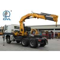 Quality Red 16Ton Truck Mounted Crane SQ16ZK4Q / Knuckle Truck Crane/crane truck/10ton/25ton truck crane for sale