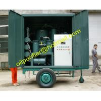 Mobile Transformer Oil Purifier Plant with Single Axle Trailer,Movable Insulation Oil Processing equipment