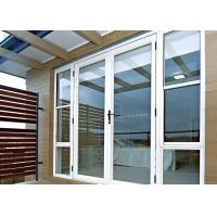 Arched Decorative Glass Entrance Doors Sound Insulation For Commercial Building