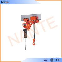 Quality Low Headroom Electric Chain Hoist Wire Rope For Production Line for sale