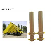 Buy cheap 3 / 4 Multi Stage Telescopic Dump Truck Lifting Hydraulic Cylinder from wholesalers