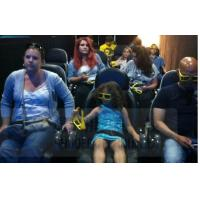 Quality Interactive Games Mini 7D Motion Seats With Durable Projector TUV Certification for sale