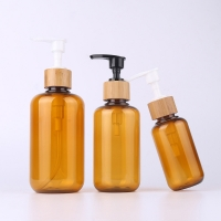 Quality 100ml 200ml Empty PET Plastic Bottles For Cosmetics for sale