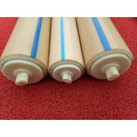 Quality Natural Color Plastic Nylon Rollers Small Power Consumption For Industries , Long Service Life for sale
