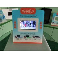 Quality 7 Inch Calender / Clock UV Printed POS Advertising Display With Video Auto Play for sale