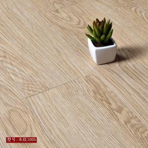 Quality High strength high flexibility wood grain uv coating embossed PVC vinyl flooring planks for sale