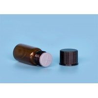 Quality Liquid Medicine Brown Depyrogenated 50ml Injection Glass Vials for sale