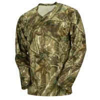 Quality Hunting Camo Long Sleeve Camouflage T Shirt 100% Poly With Wicking Function for sale