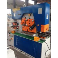 Quality CE Approved Q35Y Hydraulic Iron Worker Machine To Section Bar Punching for sale