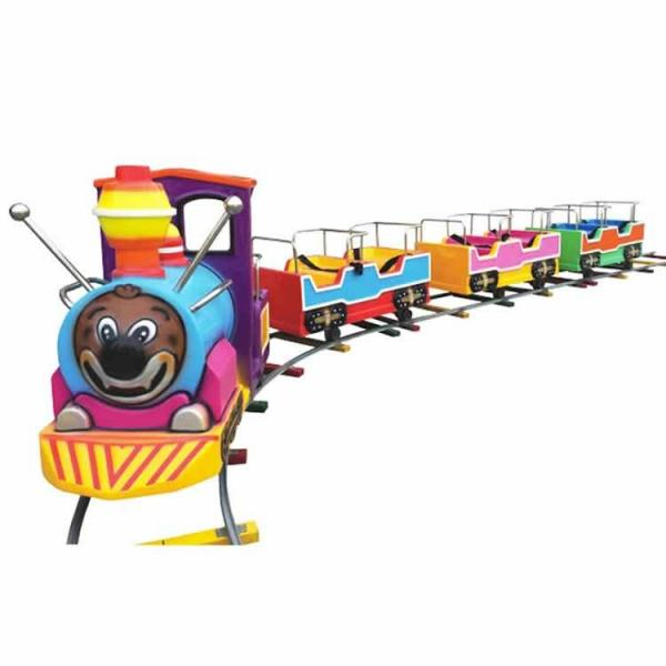 Buy Hot Sale Chinese Factory  Amusement Park Fun Rides Kids Electric Mini Track Train at wholesale prices