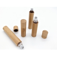 Quality Roll On 8ml 0.27oz Bamboo Cosmetic Containers for sale