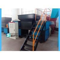 Quality Double Shaft Plastic Recycling Pellet Machine For Rubber Wooden Material for sale