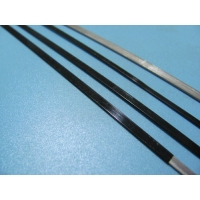 Quality Flat Stainless Steel 2.00mm 7.00mm Wiper Blade Wire Black Coating for sale