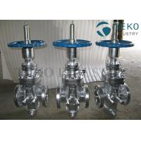 Buy cheap API 6D Through Conduit High Pressure Self-tightening Slab Expanding Gate Valve from wholesalers