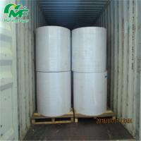 Quality 65GSM Thermal Billing Roll Offset Printing , Jumbo Thermal Paper  100% Wood Pulp for sale