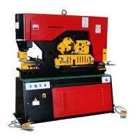 Quality High Efficiency Metal Iron Worker Hydraulic Ironworkers With Double Cylinder for sale