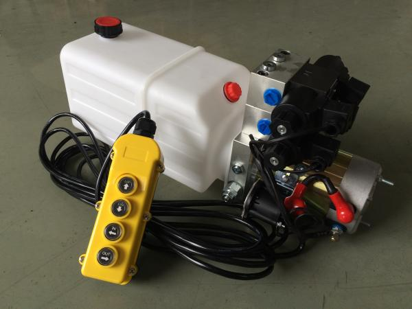 "Buy G3/8"" Oil Port Mini Hydraulic Power Packs , DC 24v Hydraulic Power Pack With 8L Plastic Oil Tank at wholesale prices"
