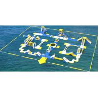 Buy cheap Giant Inflatable Water Park Equipment / Inflatable Sea Water Park For Adults And from wholesalers