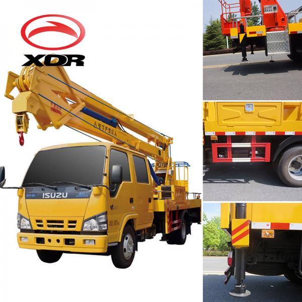 Japan brand 14-16m aerial platform working truck, 14-16m overhead working truck