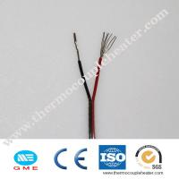 Buy cheap Different models of thermocouple insulated KX-GB-2*0.5FF compensation wire from wholesalers
