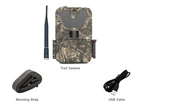 Buy 1080P Wildlife Trail Wireless Game Camera 2.4'' LCD Display  For Animal / Event at wholesale prices