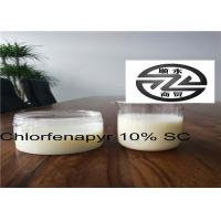 Quality Low Residue Chlorfenapyr 10 SC , Systemic Insecticide For Fruit Trees for sale