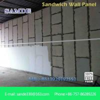 Quality Light weight precast concrete wall panels machine eps board for prefabricated wall panel for sale