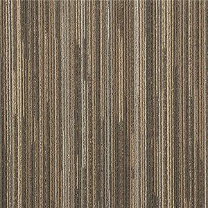 3 - 4 Mm Pile Height Modern Carpet Tiles Tufted Multi - Level Loop Pile Construction