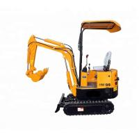 Quality Micro Hydraulic Crawler Excavator For Small Works Low Oil Consumption for sale