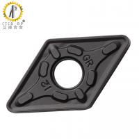 Buy cheap DNMG1506 Tungsten Carbide Cutter Turning Inserts With Black CVD Coating from wholesalers