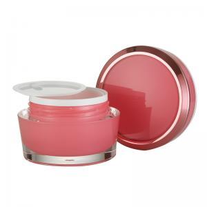 Quality Round Acrylic Pmma 15ml 30ml 50ml  PMMA Jar cream Jar for sale