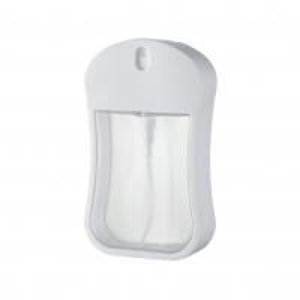 Quality Fine Mist Pump Sprayer PETG ABS Bottle 30ml Heart ShapeTravelling Bottle Perfume Bottle for sale