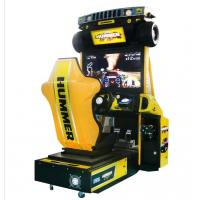 Buy cheap Hummer Racing Game Machine With Beautiful Cartoon Appearance / Plastic Light Box from wholesalers