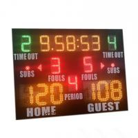 Buy cheap Popular Size Small High School Basketball Scoreboard With Standard Layout from wholesalers