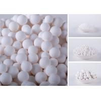 Quality Chemical High White Activated Alumina Balls For Remove Chlorine And Air Dryer for sale