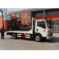Quality Euro 4 120hp 4x2 Wrecker Tow Truck 120L fule tank With Cummins Engine for sale