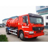 Quality 10000L Capacity 4X2 Sewage Suction Truck ZF8098 336HP Sewage Vacuum Truck for sale